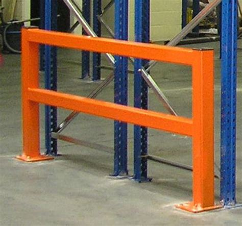 industrial column guards warehouse safety dura barriers