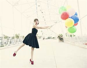 victoria, justice, , black, dress, , balloons, wallpapers, hd, , , , desktop, and, mobile, backgrounds