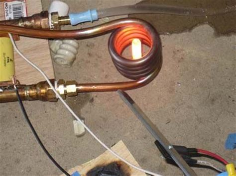 induction heater tutorial levitate  mrlt aluminum