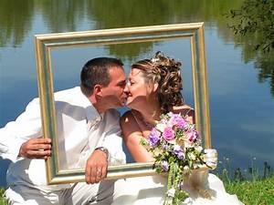 Cadre Photo Mariage : ide photobooth mariage stunning with ide photobooth mariage awesome excellent ide dekorasi ~ Teatrodelosmanantiales.com Idées de Décoration