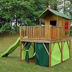 maisonnette bois amazone achat vente maisonnette With construire une maisonnette en bois