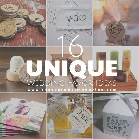 super unique wedding favor ideas the overwhelmed wedding blog socal wedding planner