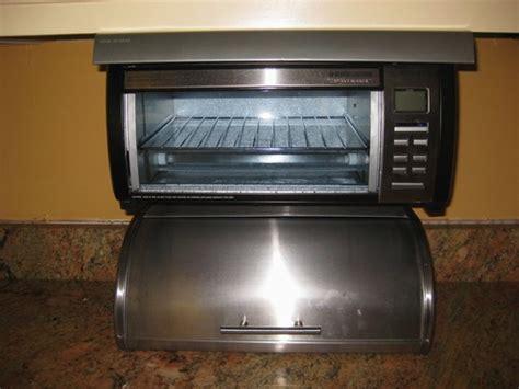 space saver toaster oven under cabinet amazon com black decker tros1000 spacemaker digital