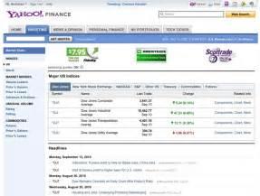 USA: <b>yahoo finance</b>