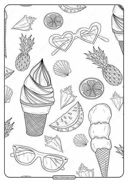 Coloring Printable Pdf Patterns