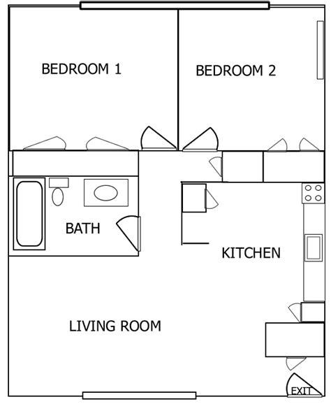 2 bedroom garage apartment floor plans kr rentals an iowa city rental agency