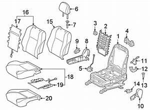 Toyota Tacoma Seat Cover  W  Heated Seat  W  O Leather