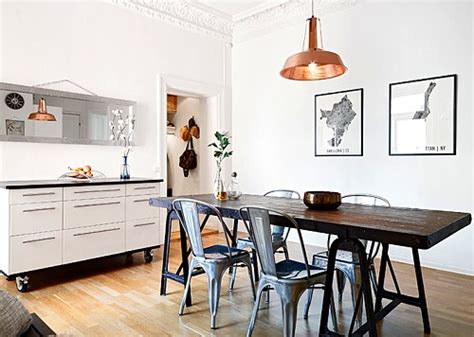 decoracion de  comedor  aire industrial ideas casas