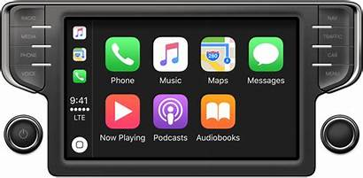 Apple Carplay Apps Interface Display Guidelines Icons