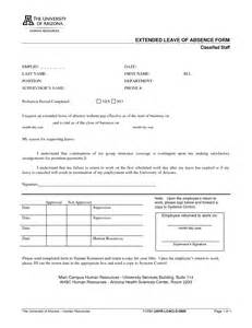 Leave of Absence Request Form Template