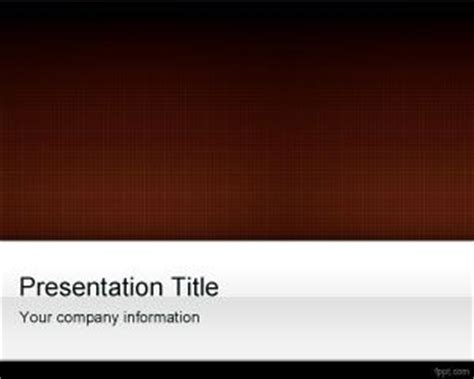 blue  brown powerpoint template