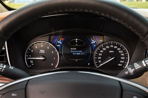 cadillac xt brings  gauge cluster design gm authority