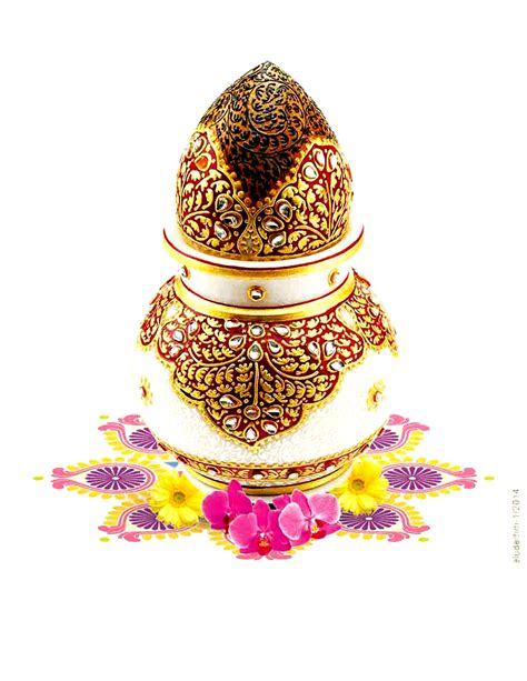 Kalash Png With Gold Plated Jewellery