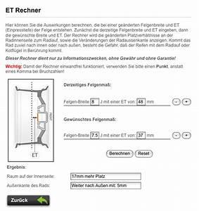 Felgen Einpresstiefe Berechnen : felgen und reifenliste w168 exterieur karosserie ~ Themetempest.com Abrechnung