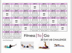 30 Day Ab Challenge Pdf Wallpaperscraft