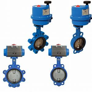 Industrial Resilient Seat Butterfly Valve