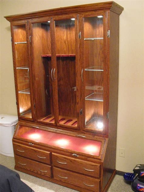 Gun Cabinet by Made Gun Cabinet By Furniture Your Way Custommade