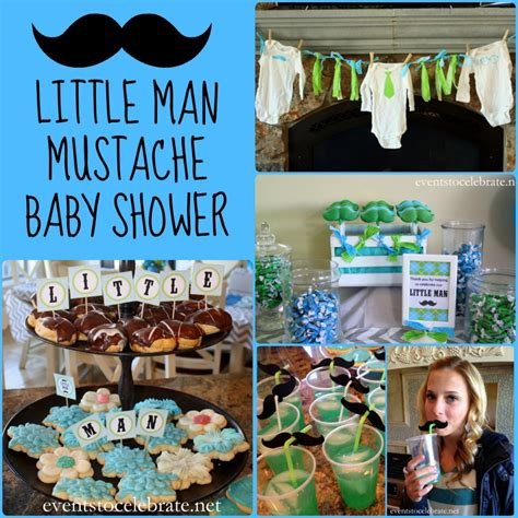mustache themed baby shower decorations little man mustache baby shower events to celebrate