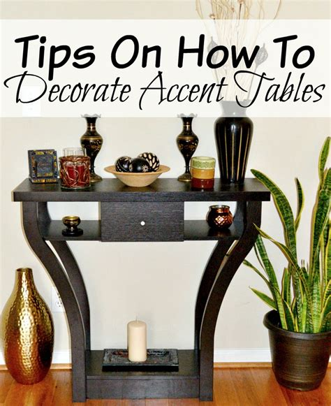 how to decorate end tables tips on how to decorate accent tables miss frugal mommy