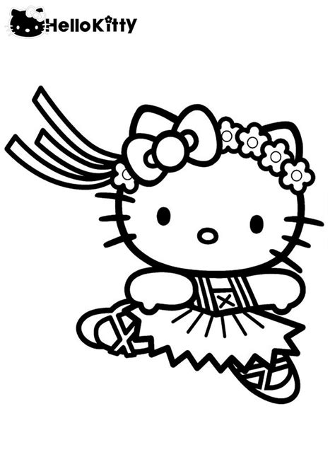 Free Printable Hello Kitty Coloring Pages For Kids Cats N