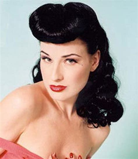 50s Roll Hairstyle by 50s Hairstyles For