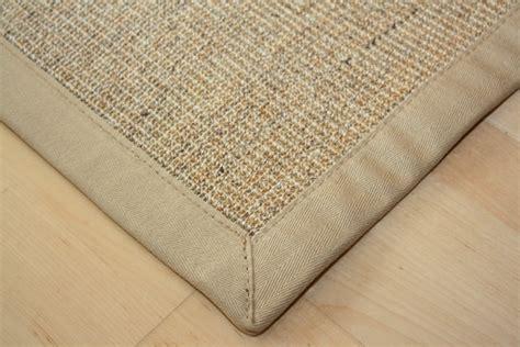 sisal teppich grün sisal teppich manaus natur meliert mit stoffbord 252 re 002