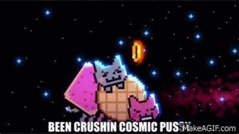 Grumpy Cat vs. Nyan Cat - ANIMEME RAP BATTLES on Make a GIF