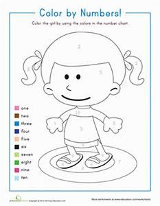 count by number coloring pages - coloring pages kindergarten counting numbers color by