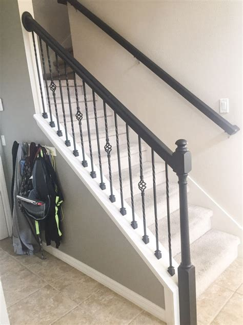 Banister Railing Ideas by How To Paint A Stair Rail For The Home Stair Railing