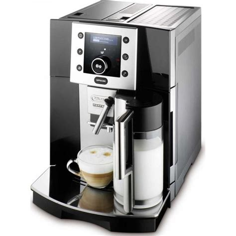 With a fully automatic espresso maker, even the amount of water is determined by the machine. Buy Delonghi Fully Automatic Coffee Machine ESAM5500B - Price, Specifications & Features | Sharaf DG