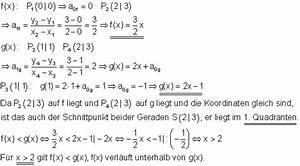 Geraden Schnittpunkt Berechnen : l sungen lineare funktionen teil v ~ Themetempest.com Abrechnung