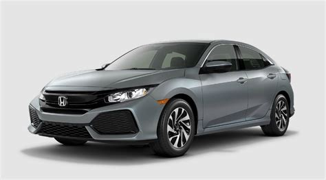 honda civic colors color options for the 2018 honda civic hatchback