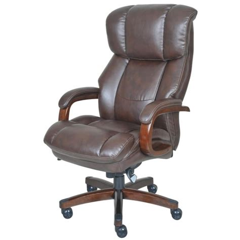 desmond big la z boy executive office chair black