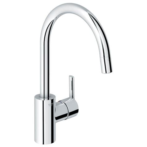 grohe kitchen faucet installation grohe feel starlight chrome one handle pull kitchen