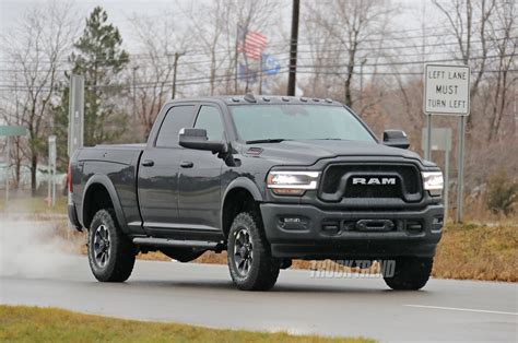 spied  ram heavy duty completely uncovered