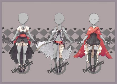 adoptables 6 closed by epic soldier on deviantart costume adoptables 2 closed by epic soldier on deviantart Costume