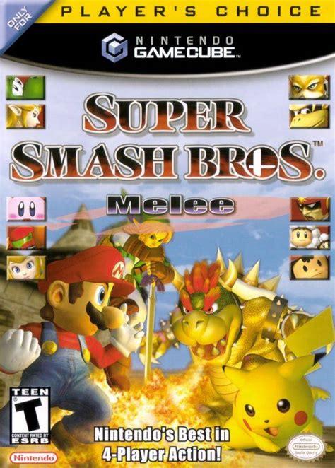 Super Smash Bros Melee Gamecube Retrogameage