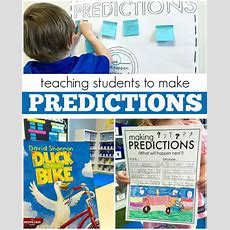 Making Predictions 1st Grade Read Aloud  The Brown Bag Teacher