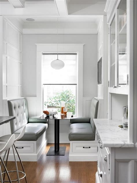 kitchen banquette seating ideas   breakfast nook