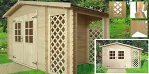 Abri De Jardin Avec Bucher : abri de jardin bois avec b cher en treillis oogarden france ~ Dailycaller-alerts.com Idées de Décoration