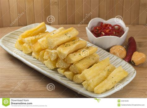 cuisine manioc mandioca stock photo image 54613346