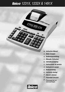 Ibico 1232x Calculator Download Manual For Free Now