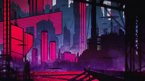 Neon Anime Wallpaper - neon city hd wallpaper wallpaper studio 10 tens of