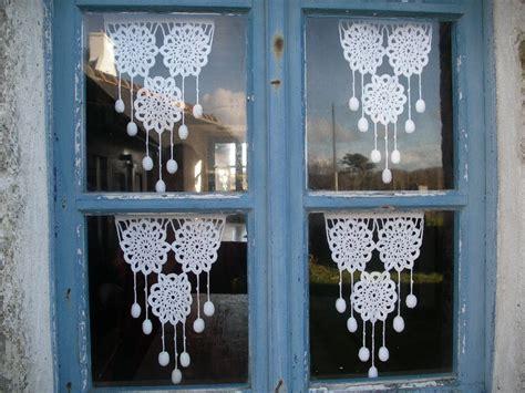 nice rideaux au crochet facile 7 modele rideau breton