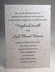 hemp fiber seed paper wedding invitations wildflower With hemp paper wedding invitations