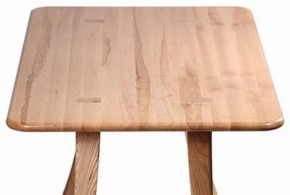 Table Dining Transparent Wooden Ash Wood Loft
