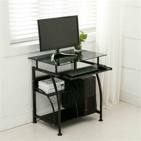 mobile rolling computer desk small space saver desk laptop
