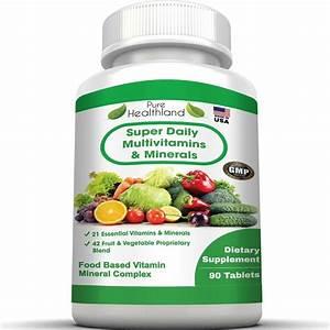 Best Daily Multivitamin Supplement Tablets For Men Women Over 50 And Seniors