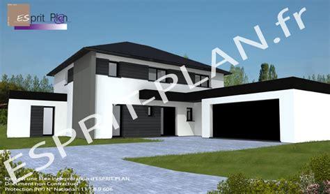 plan de maison 4 chambres de maison contemporaine achat