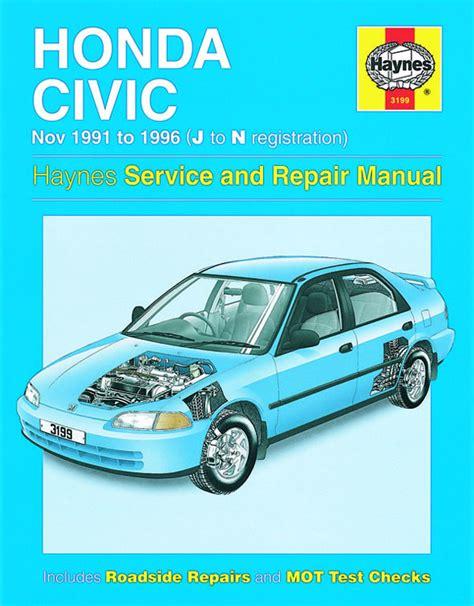 old cars and repair manuals free 1996 honda accord on board diagnostic system haynes manual honda civic nov 1991 1996 j to n